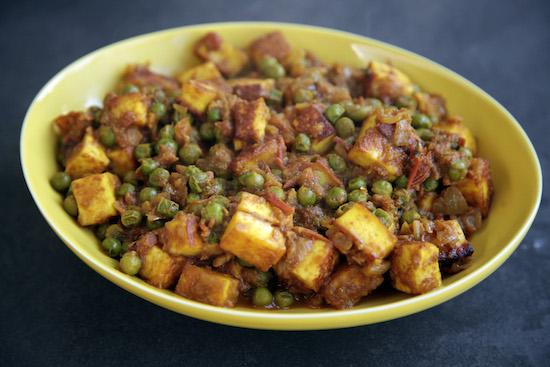 Mallika Basu - Paneer Matar recipe