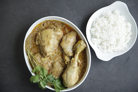 Mallika Basu - Fighting fit spicy chicken curry