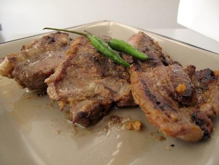 Mallika Basu - Sizzling Masala Lamb Chops