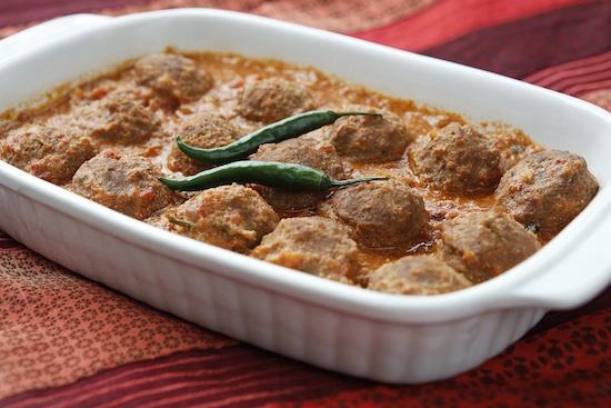 Mallika Basu - Quick Kofta Curry