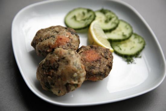 Mallika Basu - Quick fish kebabs