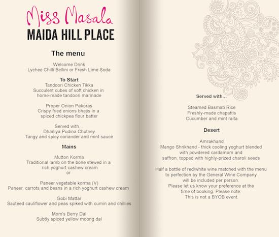 Mallika Basu - Introduction to Indian Cookery Class
