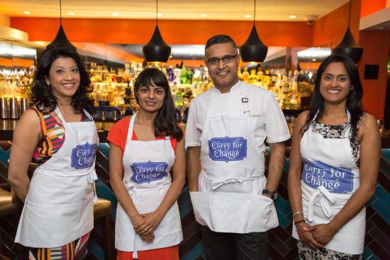 Mallika Basu - Curry for Change Launch