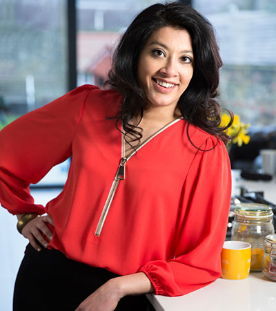 Mallika Basu - Indian Cookbook authors, India Food Network, 16 May 2015