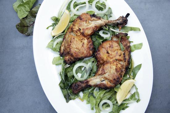 Mallika Basu - Tandoori chicken