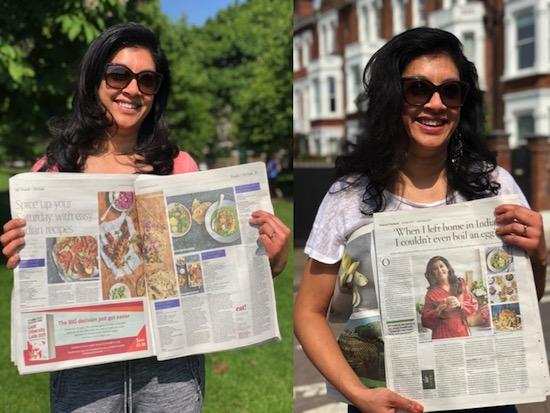Mallika Basu - Media love for new cookbook Masala